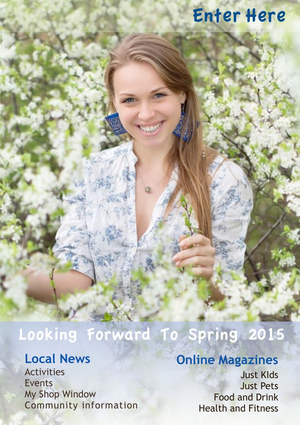 My Sheen Village - Local News, Information, Activities, Events - Welcome - Front Cover Looking forward to Spring 2015